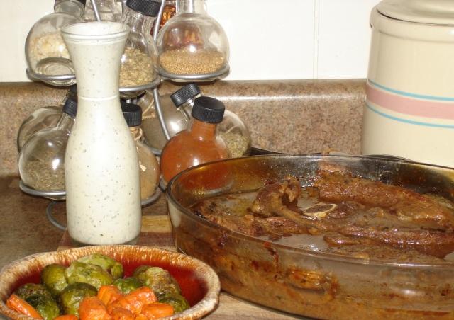 baked venison steaks