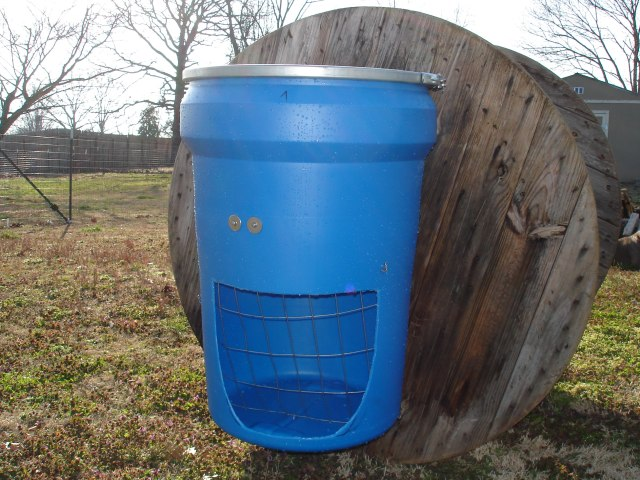 Barrel Hay Feeder